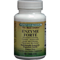 Natural Enzymes Enzyme Forte'