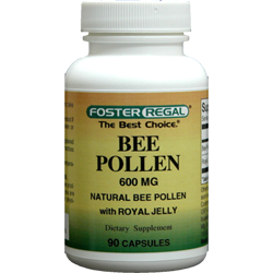 Bee Pollen 600 mg with Royal Jelly