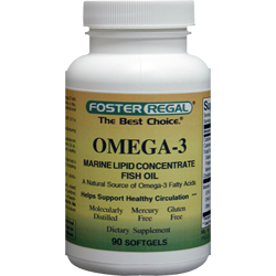 Omega-3 Fish Oil 1000 mg Per Softgel A Natural Source of Omega-3 Total OMEGA-3 Fatty Acids 600 MG
