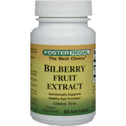 Bilberry Fruit Extract 4:1 1000 mg