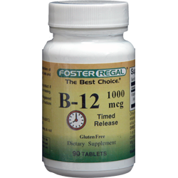 Vitamin B-12 Timed Release 1,000 mcg