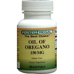 Oil Of Oregano 150 mg of 10:1 Extract Equivalent to 1500 mg Oil Of Oregano